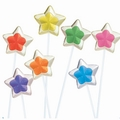 Two-Tone Star Twinkle Pops - 24-Pack