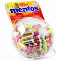 Assorted Mentos Mini Candy Rolls - 150CT Tub