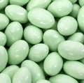 Pastel Green Chocolate Jordan Almonds