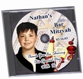 Bar Mitzvah Customized Chocolate CD