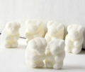 White Gummy Bears - Vanilla
