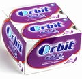 Orbit Aqua Watermelon & Blackberry Gum Pellets - 10CT Box