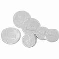 Bulk Silver Chocolate Coins