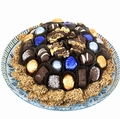 Passover Chocolate Glass Charger