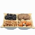 4-Section Ceramic Gift Tray