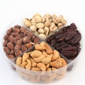 4-Section Nut Gift Platter