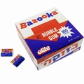 Strawberry Bazooka Bubble Gum - 100CT Box
