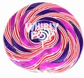 10 oz Purple & Blue Swirl Whirly Pops - 17.5 Inches