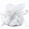 White Dotted Organza Bags - 12CT Bag