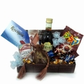 Treasure Blue Purim Basket