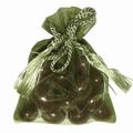 Green Mesh Favor Bags - 12CT Bag