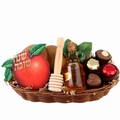 Sweet Treats Wicker Gift Basket