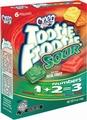 SOUR Tootie Frootie 1+2=3 Jellies - 6PK