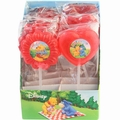 Happy Holiday Heart & Flower Lollipops - 12 PK