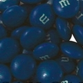 Dark Blue M&M's Chocolate Candy