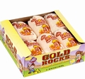 Gold Rocks Nugget Bubble Gum Sacks - 12CT Box