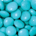 Light Blue M&M's Chocolate Candy