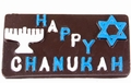 Delivered Chocolate Chanukah Card