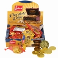 Milk Chocolate Coins - Case of 24 Bags