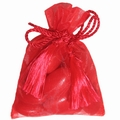 Red Mesh Favor Bags - 12CT Bag
