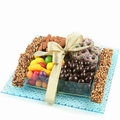 Chocolate Glass Gift Tray