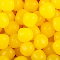 Yellow Fruit Sours Candy Balls - Lemon
