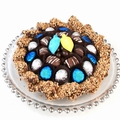 Chanukah Chocolate Glass Charger