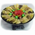 Tu Bishvat Cake Stand Fruit Medley