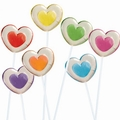 Two-Tone Heart Twinkle Pop - 24-Pack