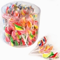 Handmade Swirl Twister Lollipops - 40CT Tub