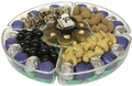 5-Section Bar Mitzvah Lucite Gift Tray