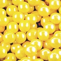 Yellow Shimmer Pearl Mini Gumballs