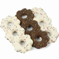 Brown & White Chocolate Confetti Cookies - 12 oz