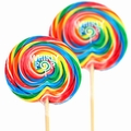 3 oz Rainbow Swirl Whirly Pop - 10-Inches