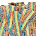 Long Rainbow Sour Belts - 1.1 LB Box
