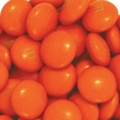 Orange M&M's Chocolate Candy