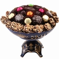 Passover Chocolate Cobalt Centerpiece Gift