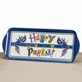 Happy Purim Melamine Rectangle Tray