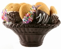 Honey Cookie Chocolate Gift Basket