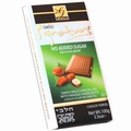 No Sugar Added Milk Chocolate Bar with Hazelnuts
