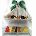 Two-Tier Fruit & Nut Combo