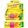 Triple Dipper Fizz Powder & Candy Sticks - 24CT Box