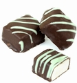 Passover Chocolate Covered Marzipan Mini Bars