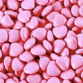 Baby Pink Chocolate Candy Hearts