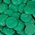 Dark Green Melting Chocolate Wafers