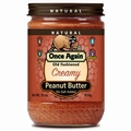 Old Fashioned Creamy Roasted Peanut Butter (No Salt Added)