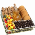 Rosh Hashanah Beaded Gift Tray