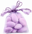 Lavender Mesh Favor Bags - 12CT Bag