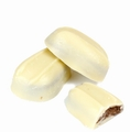 White Oblong Praline Chocolate Truffles - 5 LB Box