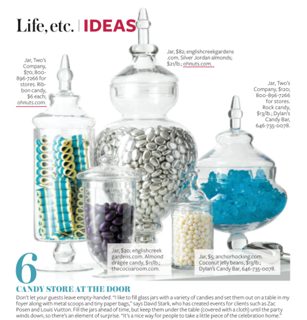 Dazzle Your Guests With Oh! Nuts as Featured in instyle